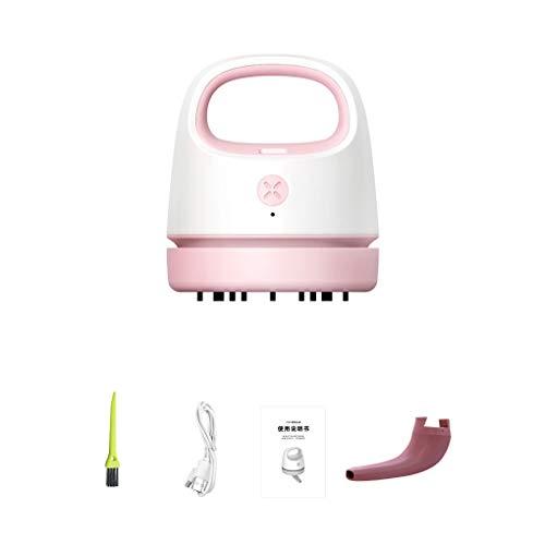 Vokmon Aspiradora de Mano colector de Polvo del hogar del Coche del USB de eliminación del Pelo del colector de Teclado, Rosa