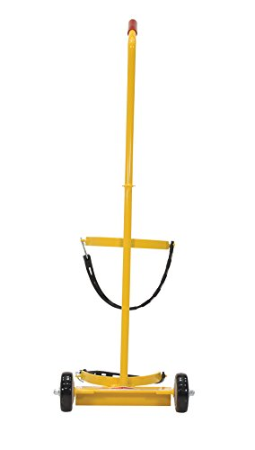 Vestil FEC-1 Fire Extinguisher Carrier with 100 lb. Capacity, Yellow
