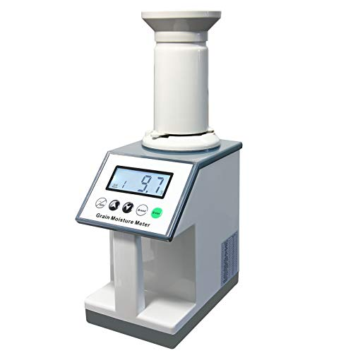 AMTAST Smart Grain Moisture Meter Grain Moisture Tester for 22 Grains, Hazelnut Coffee Been Rice Wheat Millet Soybean Maize Corn Rice Paddy Moisture Analyzer