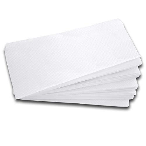 4000 Stk. Papierhandtuch Falthandtuch 25x23cm, 2 lagig, hochweiß, geprägt / Hochwertige Qualität auf 100% reinem Zellstoff