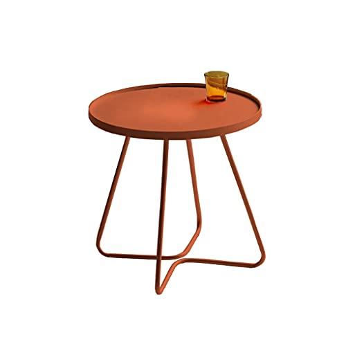 Tavolo Salotto da Caffè Tavolino in ferro battuto in ferro antiscivolo tavola da tè home divano laterale da camera da letto soggiorno angolo caffè tavolino da letto del lato comodino tavolo laterale T
