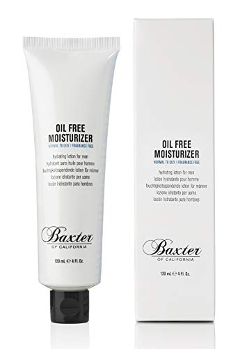 Baxter of California Oil Free Face Moisturizer for Men | Lightweight | Fragrance Free | All...