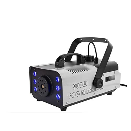 QPLKL Máquina de Niebla 900W Máquina de Niebla LED Máquina de Humo portátiles de Humo inalámbrico Máquinas de Humo remotas for la Boda Fiesta de Halloween y Efecto de la Etapa Maquina de Humo