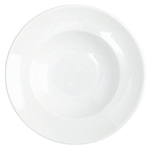 Assiette porcelaine modèle Pasta Bowl Saturnia diamètre 26 cm couleur?: blanc - Lot De 6