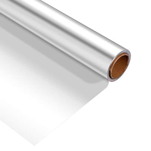 STOBOK Pellicule de Cellophane Transparent Rouleau  2. 5 Mil Épaisseur Transparent Cadeau Wrap Cellophane pour Cadeaux Paniers Fleurs Arts Artisanat (43X3000cm)
