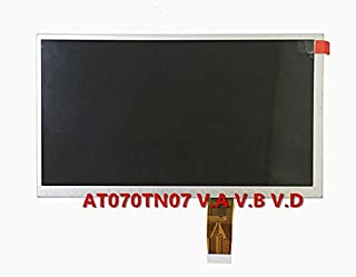 Yuebangkeji New 7 Inch LCD Screen Display for Innolux AT070TN07 V.D/V.D/V.A/V.2/V.3 TFT Industrial Screen Replacement Parts