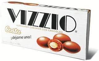 Vizzio Costa Almendras cubiertas con chocolate Net.Wt 2.54 oz
