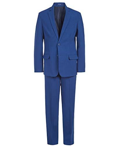 Chaps Boys' Little 2-Piece Formal Suit, Pilot Blue, 7