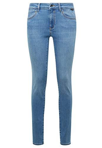Mavi Damen Adriana Jeans, Baby Blue Super Shape, 28/30