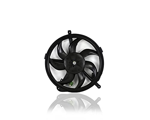 Engine Cooling Fan Assembly - Pacific Best Inc. Fit/For 17422752632 07-12 Mini Cooper/S Hatchback, 09-15 Convertible, 08-14 Clubman (Exclude Base Model)