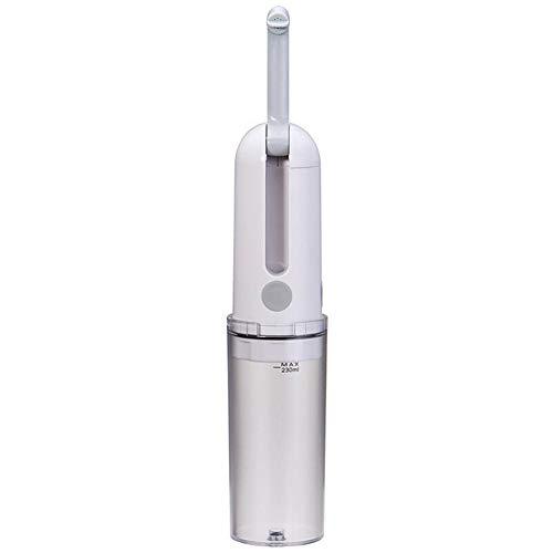 szlsl88 Elektrisches tragbares Bidet, Reisebidet, 230 ml, USB-Ladekabel, zwei Geschwindigkeiten, nicht null, weiß, Free Size