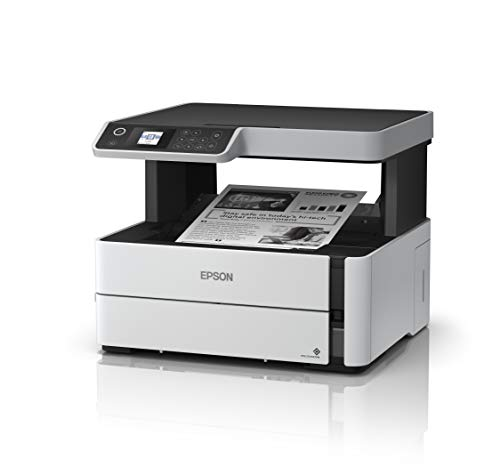 Epson EcoTank ET-M2170 Wireless Monochrome All-in-One Supertank Printer with Ethernet PLUS 2 Years of Unlimited Ink
