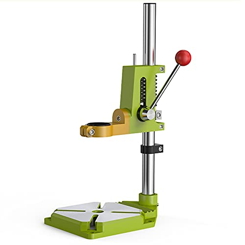 LXX Benchtop Drill Press, Drill Press Stand Heavy Duty for Hand Drill, Drill Press Stand Table for Rotary Tool, Drill Press Workbench Repair Tool for DIY and Professional Repairs