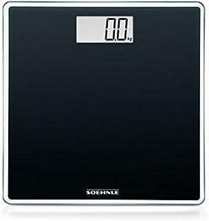 Soehnle Style Sense Compact 100 Personen Digitalwaage in kompakter Größe, Waage mit gut lesbarer LCD-Anzeige, Personenwaag...