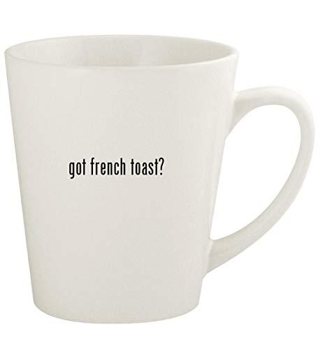 got french toast? - 12oz Ceramic Latte Coffee Mug Cup, White