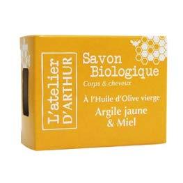Savon à l'huile d'Olive BIO - Argile Jaune et Miel