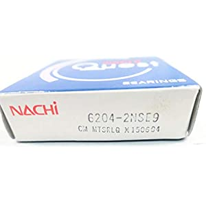 NACHI 6204-2NSE9 Quest 20MM 47MM 14MM Roller Bearing