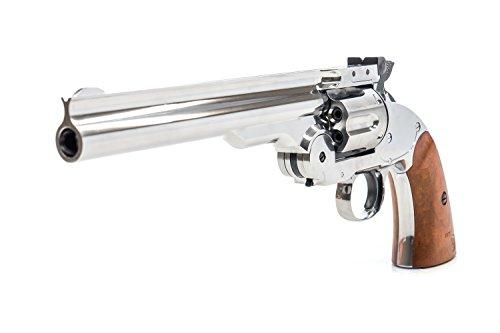 Bear River Schofield No. 3 Revolver - .177 Full Metal Airgun Pistol - CO2 BB Gun Shoot BB or Pellet...
