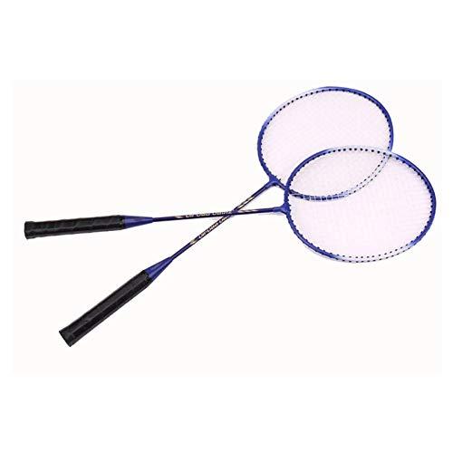 Zhicaikeji Raqueta de Badminton Raqueta de bádminton Profesional Raqueta Raqueta Ofensiva Ofensiva Set de Racket Set 2pc Badminton Badminton Bag Bag Set para Juegos de Bádminton