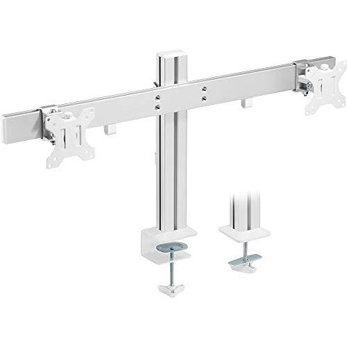 InLine 23184A - Soporte de Escritorio para 2 monitores de hasta 32' (8 kg)