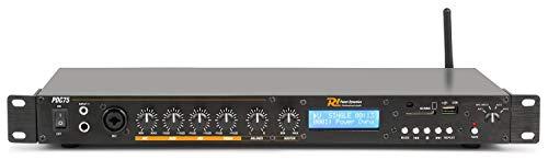 Reproductor multimedia en una unidad de rack con reproductor