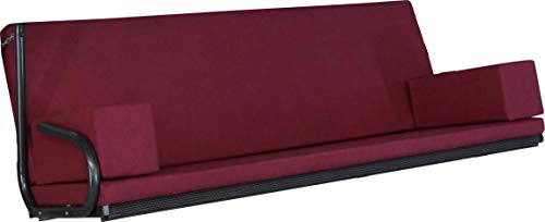 Angerer Tolar Hollywood Coussin pour balancelle Rouge