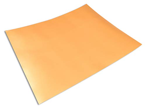 "Cooks Innovations Copper Non-Stick Oven Liner 16.5x23"" - Heavy Duty Sheet to Catch Spills in Convection, Electric, Gas, Toaster & Microwave Ovens"
