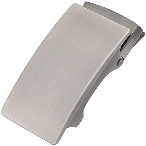 SZBLYY Hebillas Cinturon Negocio de Hombres Sin Hebilla Dental, Hebillas de cinturón de los Hombres para 3,5 cm Tratamiento de Relojes Accesorios de Prendas de Vestir Sin Hebilla de Dientes