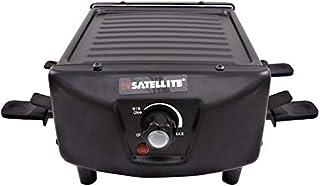Bm Satellite Raclette/Twin Grill, Black - BM-111