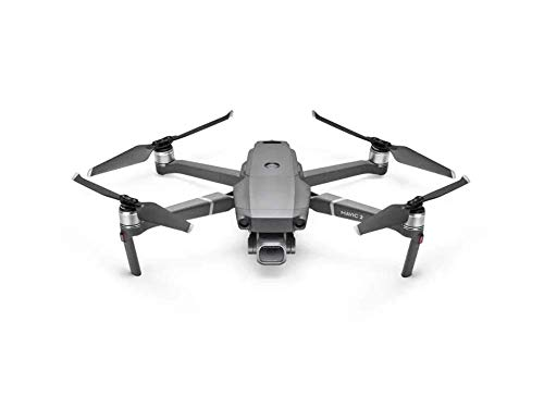 DJI Mavic 2 Pro - Drone Quadcopter UAV with Smart Controller Hasselblad Camera 3-Axis Gimbal HDR 4K Video Adjustable Aperture 20MP 1' CMOS Sensor, up to 48mph, Gray