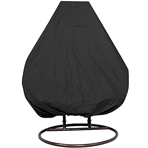 LHJCN Funda para Silla Colgante para Patio, Tela Oxford Impermeable 210D, Fundas para sillas de Columpio para Huevos de Alta Resistencia, Funda Protectora para Muebles de jardín Veranda Cocoon con