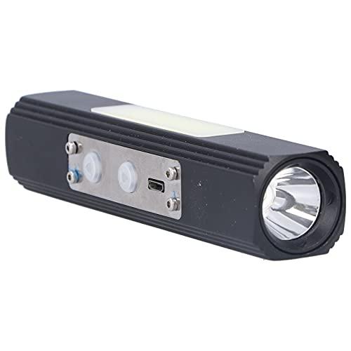 Iluminación nocturna, linterna LED, linterna de emergencia con carga USB para exteriores, para montar de noche, senderismo, acampar