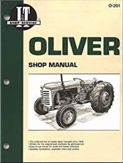 Oliver Super 55 Tractor Service Manual [IT Shop]
