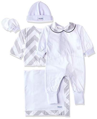 Biramar Baby Saida Maternidade 5 pcs Chevron, Marinho