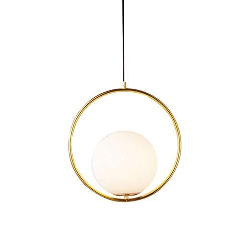 HDDD Nordic creatieve oorbellen kroonluchter persoonlijkheid eenvoudige moderne bar café slaapkamer hanglamp enkele kop kleine kroonluchter