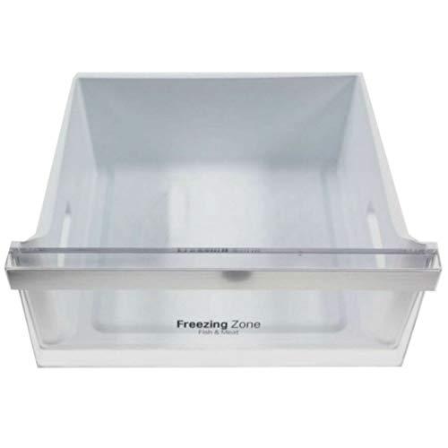 Cajón superior de congelador LG Original,'Fish & Meat', compatible con numerosos modelos, consultar listado