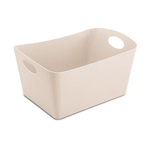koziol caissette de rangement 15 l Boxxx L, thermoplastique, taupe, 31 x 48 x 23,7 cm