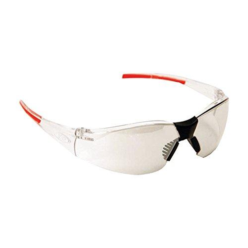 JSP Schutzbrille Stealth 8000 transparent - silber Indoor / Outdoor kratzfest