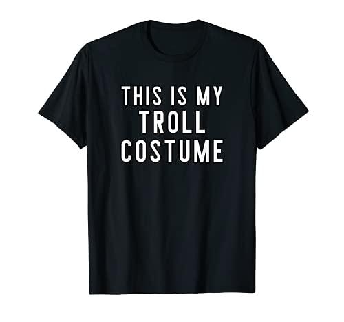 Disfraz de Halloween para parejas, este es mi trol Camiseta