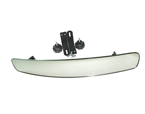 "Price comparison product image 16.5"" Extra Wide Panoramic Rear View Mirror for Golf Carts Such As Ez Go,  Club Car,  Yamaha"