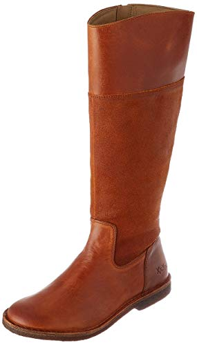 Kickers Damen Tintabo Mode-Stiefel, Orange Kamel, 40 EU