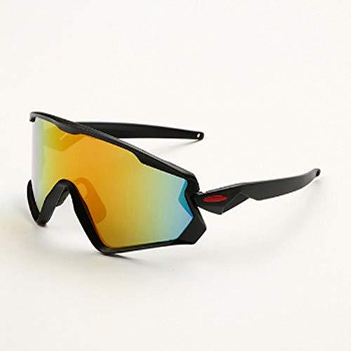 Sportzonnebrillen Outdoor Heren en Dames New Riding Zonnebrillen Reflecterend Explosieveilige zonnebrillen Eyewear Unisex fietskleding
