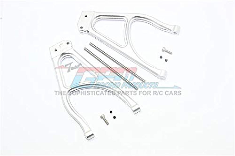 Traxxas ERevo 2.0 VXL Brushless (860864) Aluminum Rear Upper Suspension Arm  1Pr Set Silver