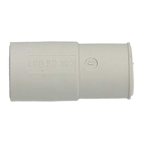 LUTH Premium Profi Parts Universal Adapter Ablaufschlauch Endstück Ø 21mm/19mm für Waschmaschine Spülmaschine Geschirrspüler