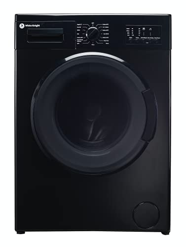 White Knight DAWM148B 8kg 1400 Spin Washing Machine - Black