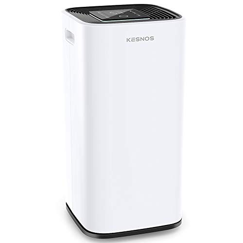 Kesnos 70 Pint Dehumidifiers for Spaces up to 4500 Sq Ft at Home and Basements PD253D,White