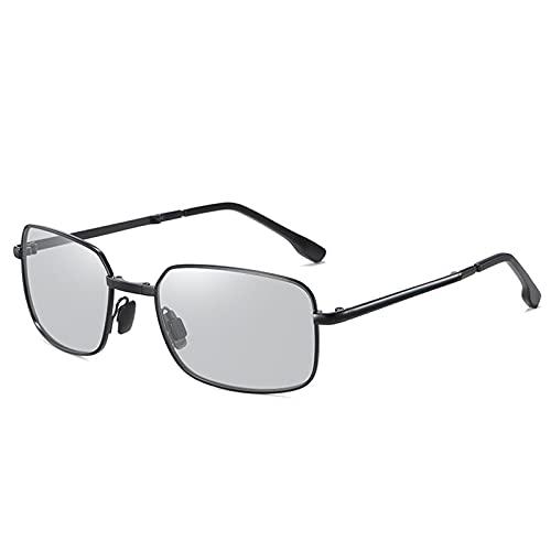 SHENGYANG, Mini Gafas de Sol Plegables polarizadas con Tela de Limpieza y Estuche de Cuero.-I