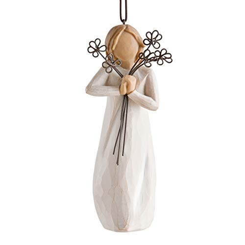 Willow Tree 27337 Friendship Ornament, White
