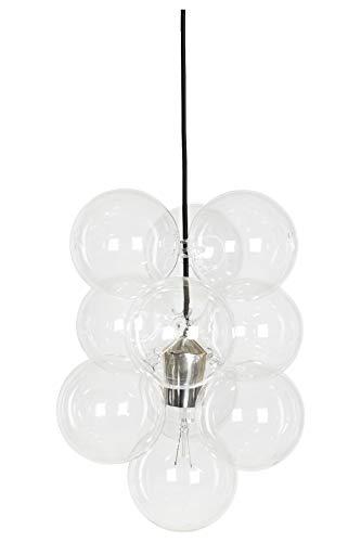 House Doctor Lampe DIY 12 Kugeln, Glas/grau