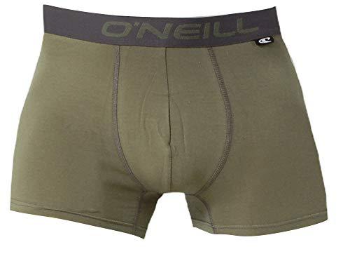O'Neill Herren | Boxer-Short | Basic-Line | 2er Set | für jeden Tag (Khaki Gold, M)